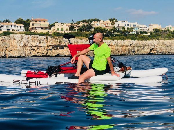 Rent a WATERBIKE Schiller for 1 person
