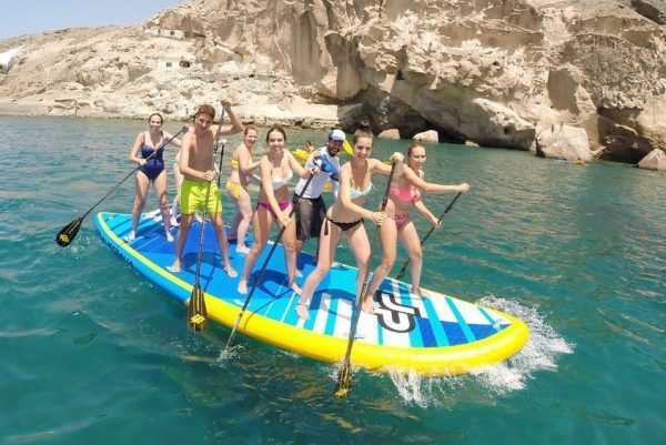 Rent a PADDLE XXL for 8 people